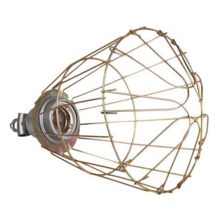 Infra lámpa foglalat és védőrács Használható bármilyen E27 izzóhoz