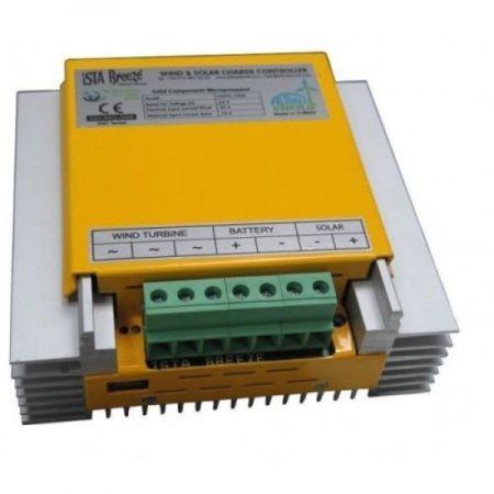 Töltésszabályozó szélgenerátorhoz és napelemhez 48V 1200+300W