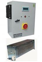 Töltésszabályozó szélgenerátorhoz és napelemhez 24V 1500+300W