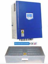 Töltésszabályozó szélgenerátorhoz és napelemhez 24V 1500+400W