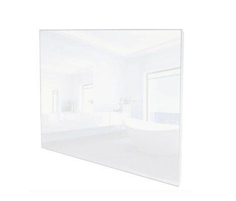 ÜVEG infrafűtés üvegpanel 270W  620 x 420 x 30mm fehér ÜVEG borítás. Infrapaneles fűtés