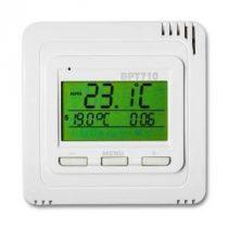 BPT710 Rádiós termosztát vezeték nélküli szobatermosztát digitális kijelző, heti programozás infrapa
