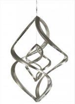 3D fém szélforgó rozsdamentes acélból 38x29 cm széljáték