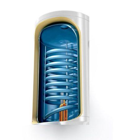 Hőcserélős tároló elektromos fűtéssel is 100 liter
