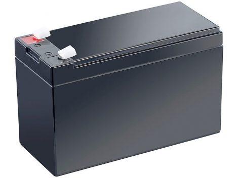 Karbantartásmentes ólom akkumulátor 12 V-os, 7,2 Ah, 4,8 mm-es lapos dugóval
