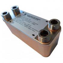 Lemezes hőcserélő 30 lemezes 65kW teljesítmény