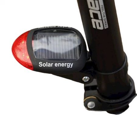 Napelemes bicikli lámpa hátsó világítás