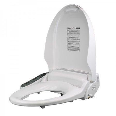 Bidés WC deszka fűthető deszkával, víz- és szárító állítható hőmérséklettel