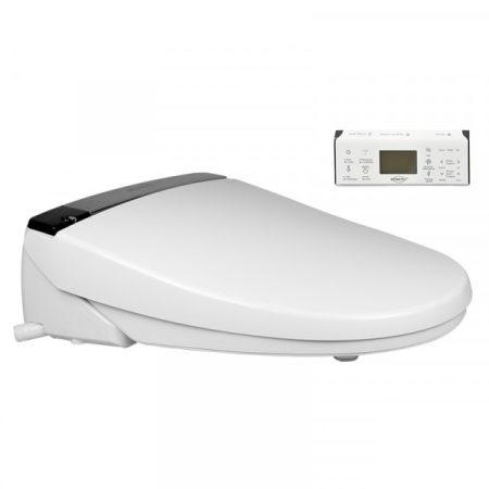Bidés WC deszka luxus kivitelben, LCD távirányítóval, fűthető deszkával