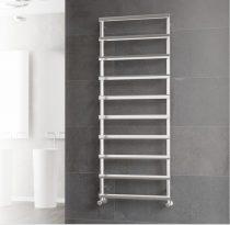 Design radiátor - Cordivari Alessandra Polished 530x420 polírozott rozsdamentes acél design törölköz