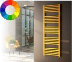 Színes design radiátor - Cordivari Anna 400x840 sárga design törölközőszárító. Rendelhető fekete pir