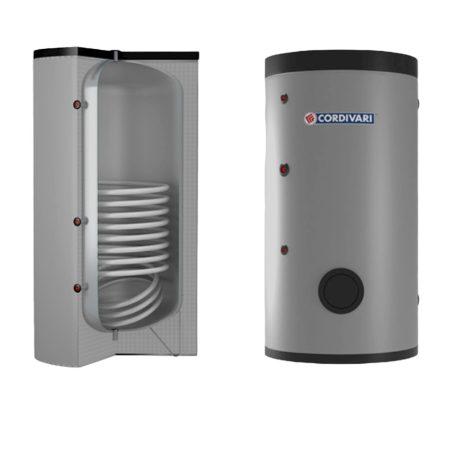 Melegvíz tároló - Cordivari Bolly 1ST WC1000 1 hőcserélős álló 1000L indirekt bojler