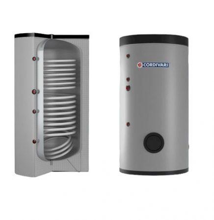 200 literes HMV tároló extra nagy hőcserélővel - Cordivari Bolly2 XL WB200 2 hőcserélős álló, napkollektor vagy hőszivattyú számára