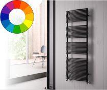 Színes radiátor - Cordivari Brigitte 400x785 fekete design törölközőszárító. Rendelhető fekete piros