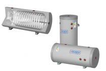 Melegvíz tároló - Cordivari Bolly Murale WB300 1 hőcserélős 300L indirekt fali bojler fektetve vízsz