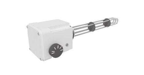 """Fűtőbetét Cordivari 400V háromfázisú 12000W fűtőpatron 1½"""" azaz 6/4"""" cekász 12kW"""