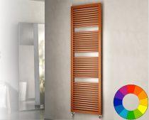 Színes design radiátor - Cordivari Claudia Square 490x775 narancssárga design törölközőszárító.