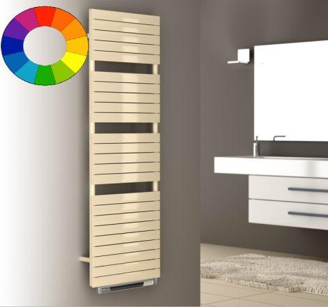 Színes elektromos radiátor - Cordivari Dory Blower 500x784 bézs design törölközőszárító kényszerkeri