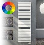 Színes elektromos radiátor - Cordivari Dory Electric 500x784 fehér színű design törölközőszárító