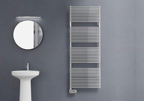 Elektromos radiátor - Cordivari Elen 18 Electric 500x760 rozsdamentes acél design törölközőszárító