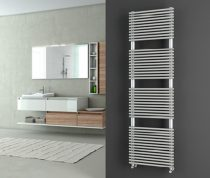 Design radiátor - Cordivari Elen 18 Satin 430x760 szálcsiszolt rozsdamentes acél design törölközőszá