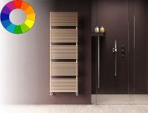 Színes radiátor - Cordivari Katia VX 400x850 bézs design törölközőszárító. Rendelhető fekete piros k