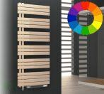 Színes elektromos radiátor - Cordivari KellyFlat Sx Blower 600x920 bézs design törölközőszárító