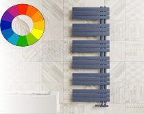 Színes radiátor - Cordivari Kelly Flat 500x864 farmerkék design törölközőszárító. Rendelhető fekete