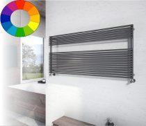 Színes radiátor - Cordivari Lucy 18 Wide 1200x400 grafitszürke design törölközőszárító. Rendelhető f