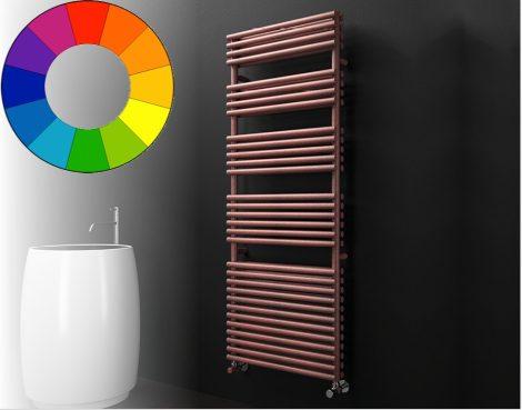 Színes radiátor - Cordivari Lucy 25 Plus 430x738 vörös design törölközőszárító. Rendelhető fekete pi