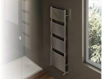 Design radiátor - Cordivari Nancy Polished 387x760 polírozott rozsdamentes acél design törölközőszár