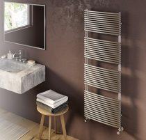 Design radiátor - Cordivari Nancy Satin 387x760 szálcsiszolt rozsdamentes acél design törölközőszárí