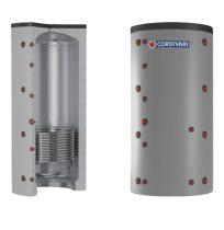 Puffer tároló - Cordivari 1VC 1500 - 1 hőcserélős 1500 liter - sarokba helyezhető puffertartály