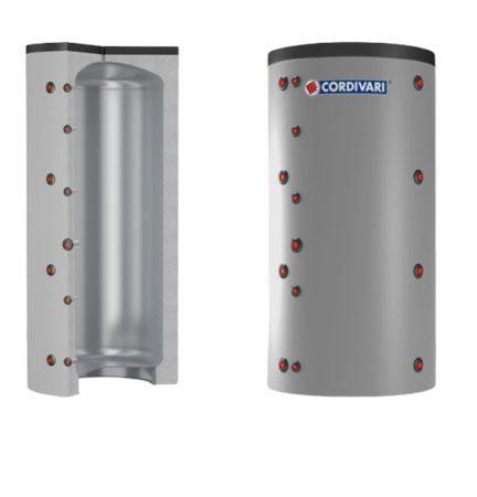 Puffer tároló - Cordivari VB500 - hőcserélő nélkül 500 liter - sarokba helyezhető