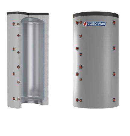 Puffer tároló - Cordivari VC 2000 - hőcserélő nélkül 2000 liter - sarokba helyezhető puffertartály