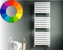 Színes radiátor - Cordivari Samira 400x845 tejfehér design törölközőszárító. Rendelhető fekete piros