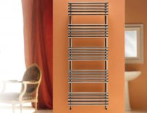 Design radiátor - Cordivari Sandy Polished 400x735 polírozott rozsdamentes acél design törölközőszár