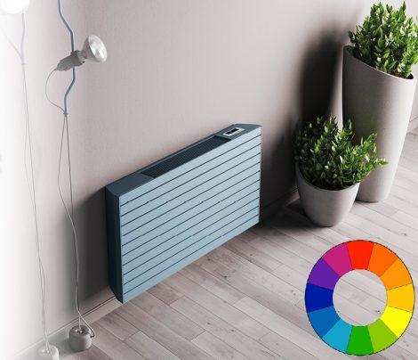 Színes design radiátor - 800x610 világos zöld radiátor fancoil. Rendelhető fekete piros kék sárga