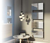 Design radiátor - Cordivari Stefania Polished 400x735 polírozott rozsdamentes acél design törölközős