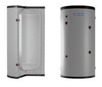 Melegvíz tároló - Cordivari Vaso Inerziale WC1000 - hőcserélő nélküli álló 1000L indirekt bojler
