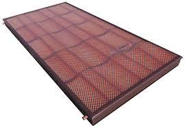 Sunerg cserépmintás síkkollektor - beolvad a tetőbe! Réz cső titán-oxid szelektív abszorber 2,5 m2