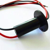 Csúszó érintkező, csúszógyűrű 500V 15A 2 vezetékes