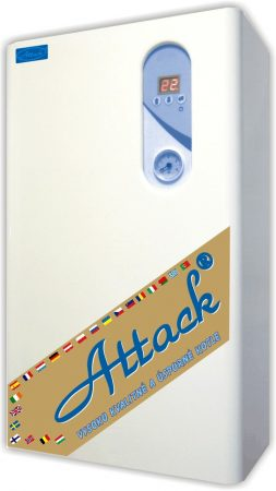 Elektromos kazán 7,5 KW ATTACK ELECTRIC Excellence 8