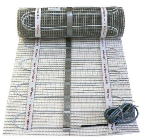 Elektromos padlófűtés 1,5m² 240W 4 mm vastag fűtőszőnyeg fűtőfilm