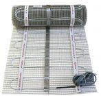 Elektromos padlófűtés 1m² 160W 4 mm vastag fűtőszőnyeg fűtőfilm