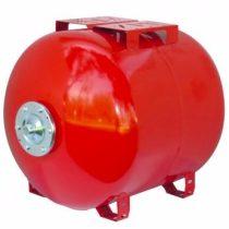 Fűtési rendszer tágulási tartály 60 liter, EPDM gumi membránnal piros színben
