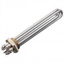 """Egyenáramú fűtőbetét  cekász 24V 300W - 600W - 900W 1,25"""" 1¼"""" rozsdamentes fűtőpatron szélkerék vagy"""
