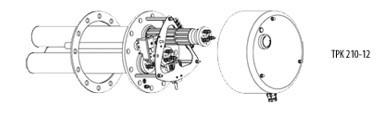 Fűtőbetét cekász 400V 5-9kW