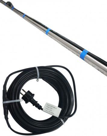 Fűtőkábel, csőfűtés, vízvezeték fűtőszalag 1,0-49,0 méretig 17 W/m