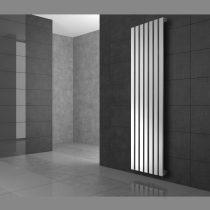 Modern design radiátor 260x1600mm fehér színben, különleges hosszított és keskenyített, stílusos meg